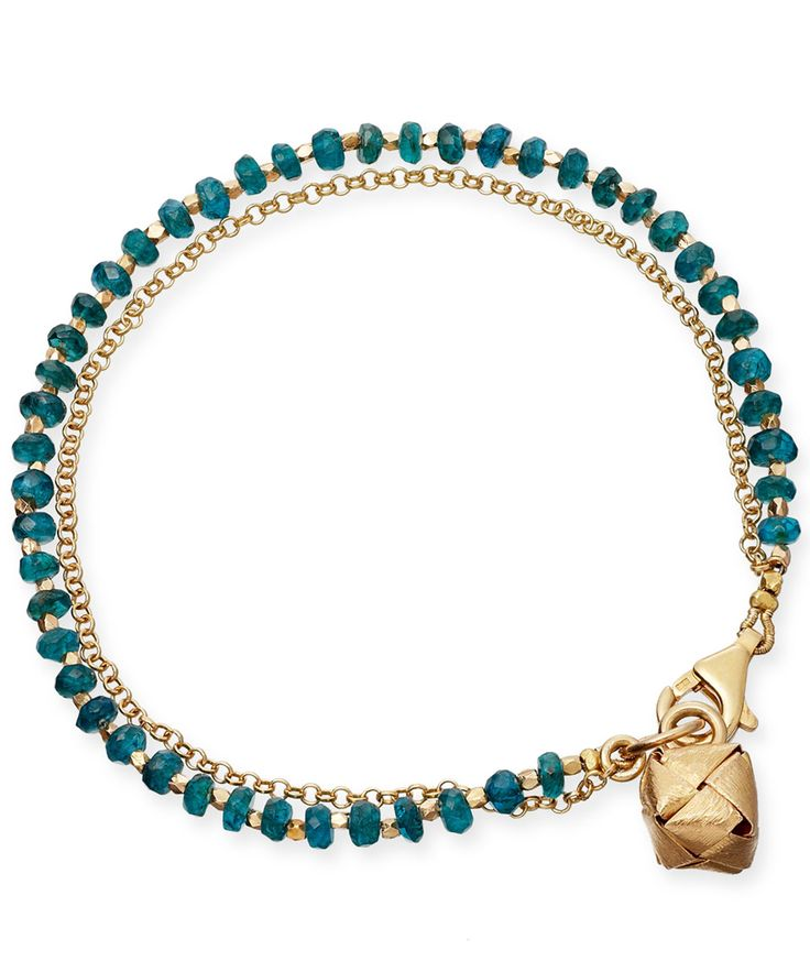 Astley Clarke Apatite Little Parcel Friendship Bracelet | Jewellery by Astley Clarke | Liberty.co.uk