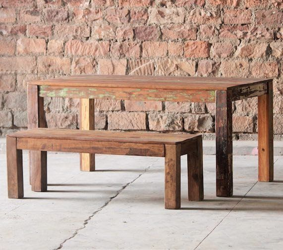 Mary Rose Reclaimed Boat Wood Dining Table. 123 best Reclaimed Wood Furniture images on Pinterest   Reclaimed