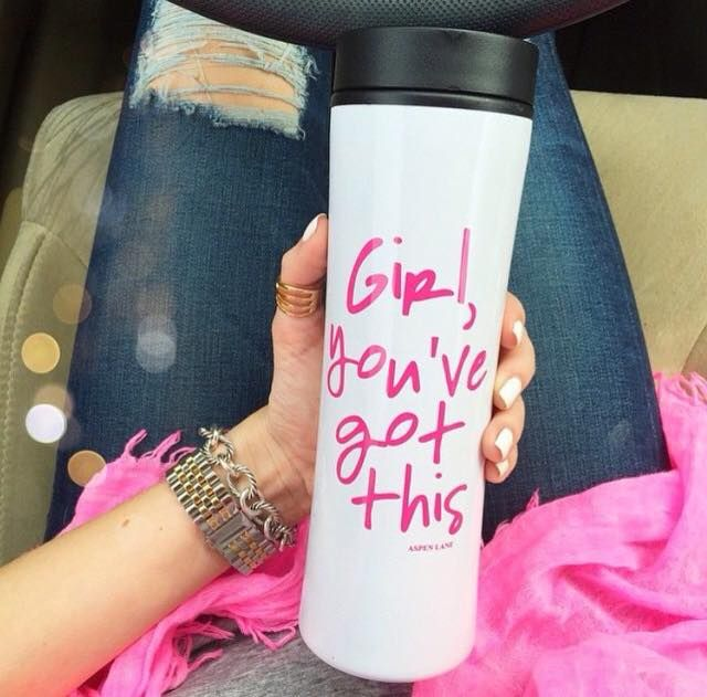Because your travel mug should inspire you!