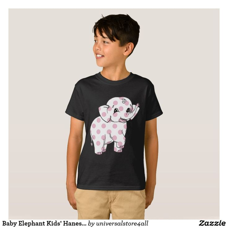 Baby Elephant Kids' Hanes TAGLESS® T-Shirt