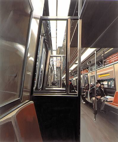 En Un tren - Richard Estes