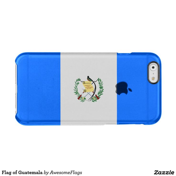 Flag of Guatemala Clear iPhone 6/6S Case