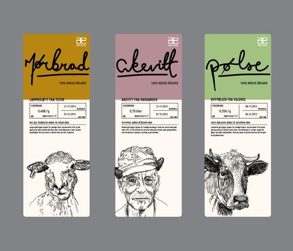 Særnorsk Packaging on Packaging Design Served