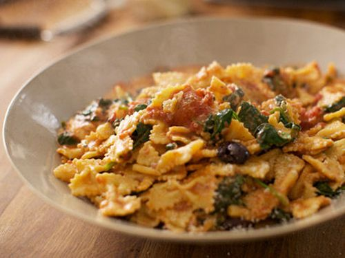 This recipe is a great way to get making different pasta shapes…kids will love it!