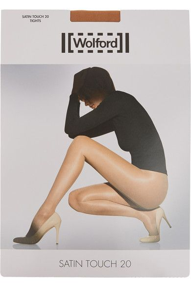 Wolford - Set Of Two Satin Touch 20 Denier Tights - Sand -