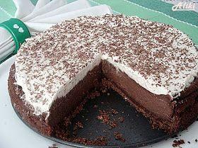 Υλικά    Για την βάση   250 gr. μπισκότα Digestive με σοκολάτα (εγώ έβαλα 150 gr. Digestive και 100 gr. μ...