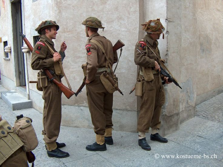 Britischer Soldat 2. WK - Zu Beginn der 30er Jahre ...