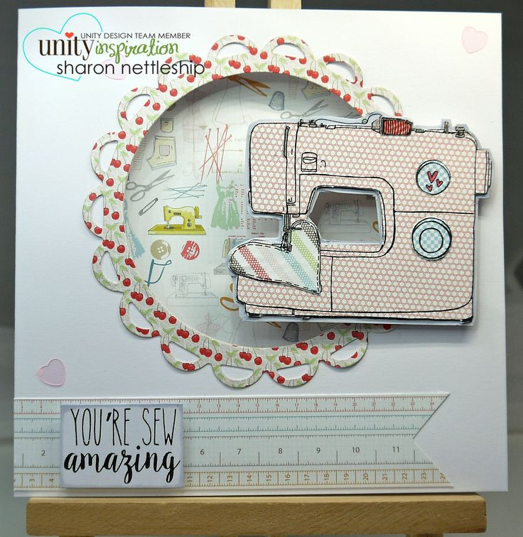 Unity Stamps - March KOTM