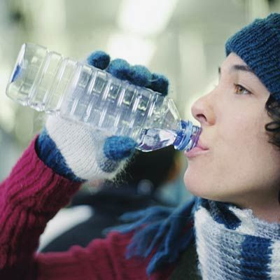 4th tip for long runs during dark (and cold) winter days: Hydrate As If It's Summer. #cardio #running | Health.com