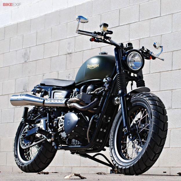 Triumph Scrambler Custom by FGmotoworks | Gear X Head