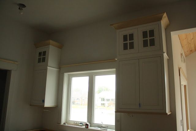 House on Tufton: The Build: Wainscoting and Crown