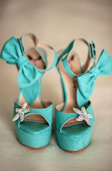 Cute Beach Wedding Heels.