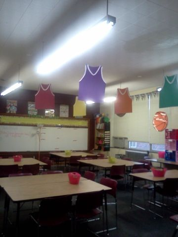Wishes do come true...: Sports classroom theme DIY middle school classroom classroom theme ideas sports class