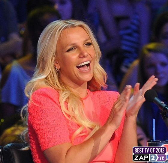 Britney Spears on #TheXFactor