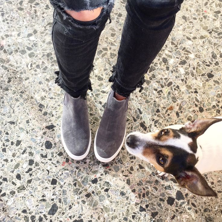 Feel the love by Rena Xenou Leather High-Top sneakers