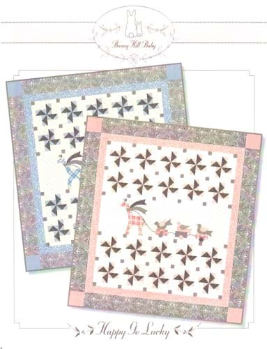 Bunny Hill Baby Quilt Quilts Pinterest Bunny