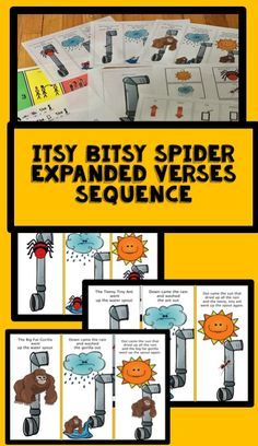 This is one of the most popular children's poems with a twist! This rendition has a teeny tiny ant ( say in soft voice) and a big fat gorilla ( shouting and large movements). Sequencing, Following Directions and a song all with the same theme.
