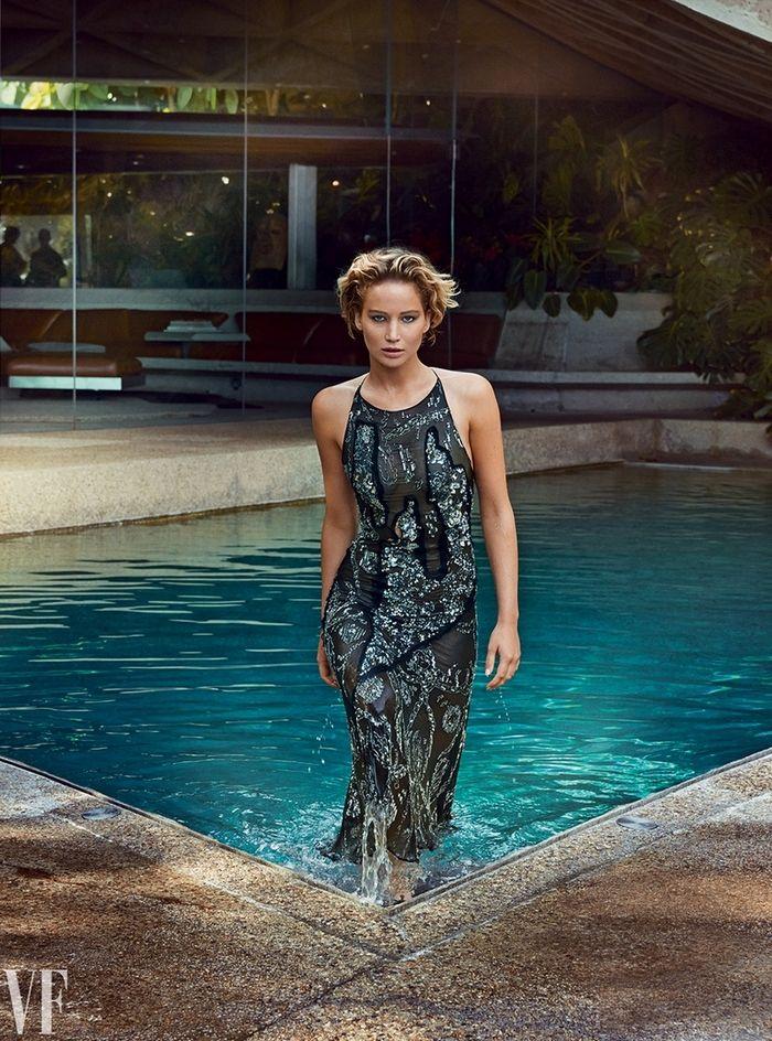 Jennifer Lawrence for Vanity Fair, March 2015