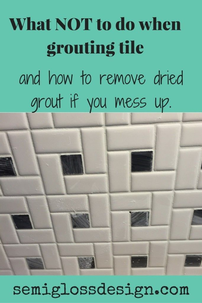 Don T Make These Mistakes While Grouting Grout Grout