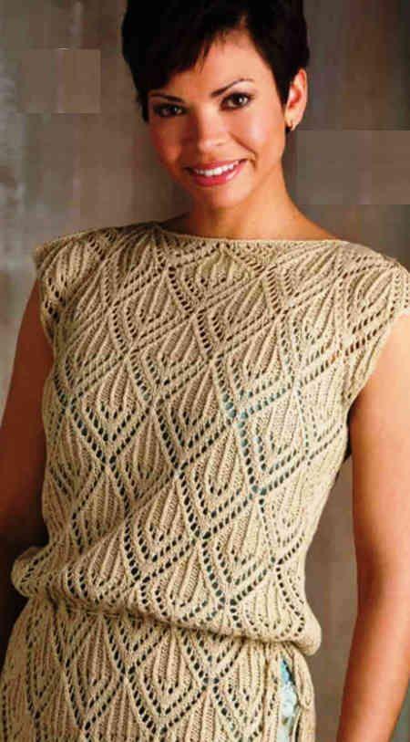 Туника Вязаная, Knitting,