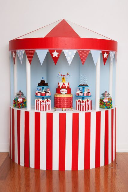 Circus Birthday Party Ideas   Photo 1 of 10: