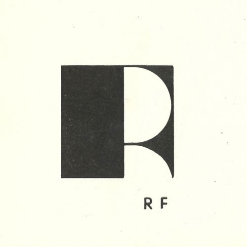 Typeverything.com    RF monogram from 1945 by Jean Puiforcat.