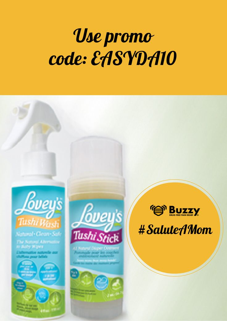 Marcie Weinstein Smith  Lovey's Body Products makes TRULY natural baby and body care products. www.Loveys.ca Facebook.Loveys.ca Get 10% off any of Lovey's products until June 30th, 2014 on Amazon.com. Go to Loveys.ca and you can click on the product you would like to purchase. You will be redirected to Amazon.com. Be sure to enter promo code: EASYDA10. #SaluteAMom