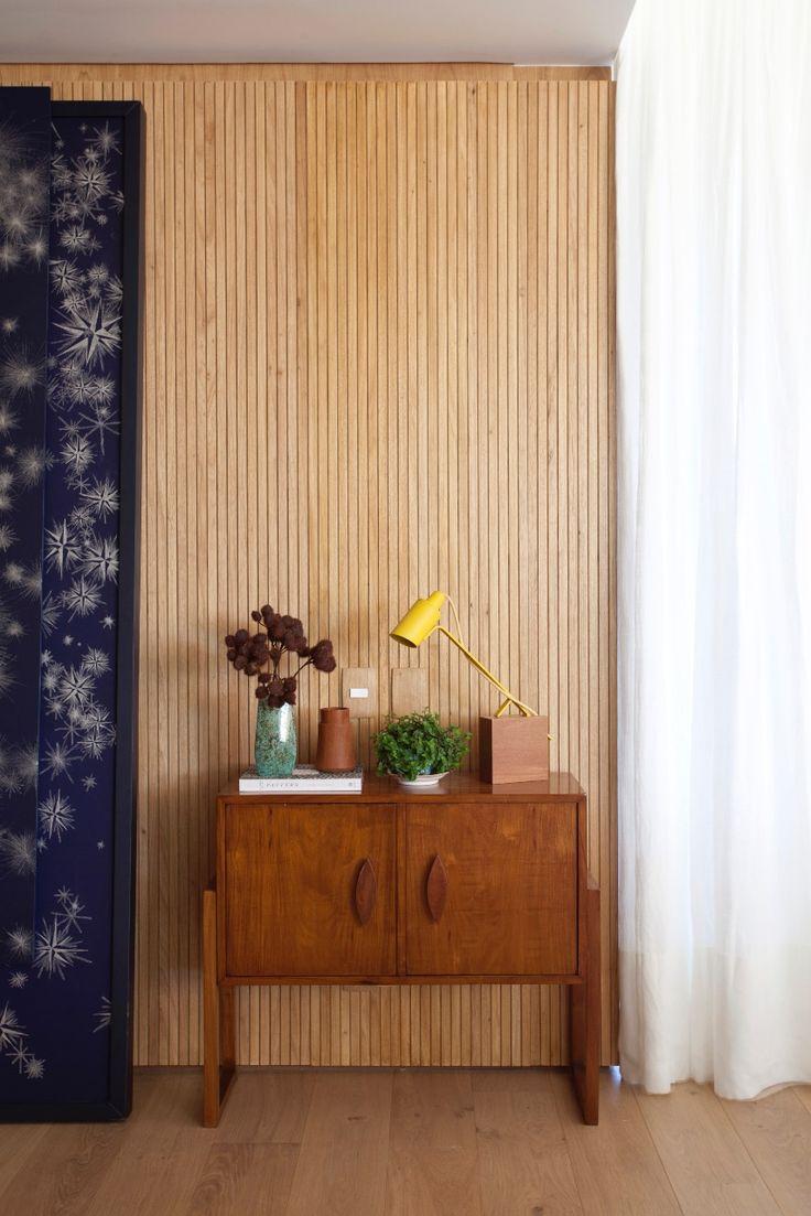 O charme acontece nos detalhes... o verde, o design, a madeira..