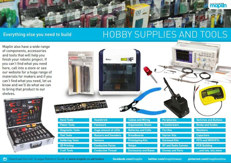 Robotics at Maplin - get to maplin.co.uk/maker and download this full guide as a PDF  #Robot #Robotics #Arduino #RaspberryPi #Pi #Educational #Building #Making #creating #designing #programming #fun #maplinelectronics