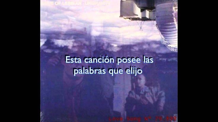 Love of Lesbian - Love Song No. 79.899 (subtitulada al español)