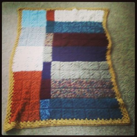 Afghan! The pattern is from The Happy Hooker by Debbie ...