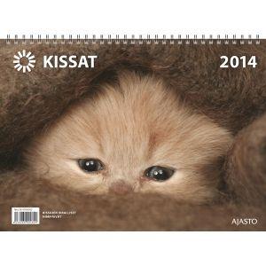 Hyväntekeväisyys Kissakalenteri 2014 seinäkalenteri. En siis halua juuri tätä kalenteria vaan jonkin muun kissa/eläinkalenterin josta osa myyntihinnasta menee hyväntekeväisyyteen. Esim jonkin eläinsuojeluyhdistyksen oma kalenteri.