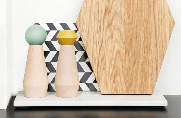 Essential Kitchen Tools - Salt And Pepper Mills | The fun shapes and colors on the tops of these grinders help add a bit of liveliness to your kitchen.