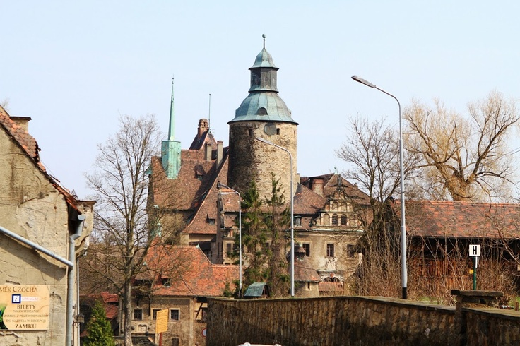 far away from the city turmoil ... the Czocha Castle