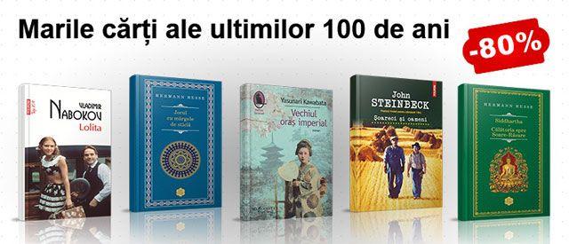 10 carti cu mari reduceri din Topul literaturii clasice