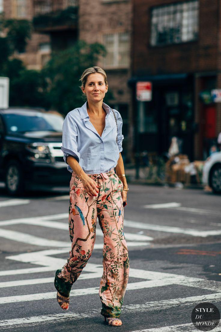 New York SS 2019 Street Style: Marina Larroude