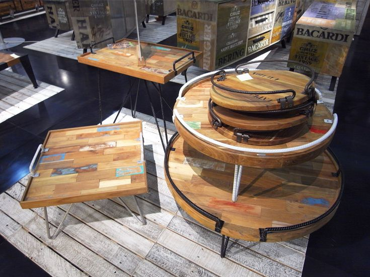 Carbon side table range from d-Bodhi. #hunterfurniture for #furniturehunters #eco-friendly