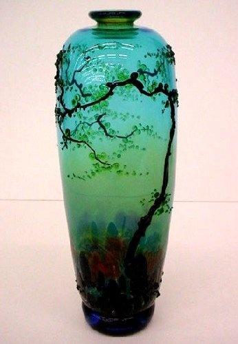 Early Spring Sunrise by John F. Nygren | Corning Museum of Glass