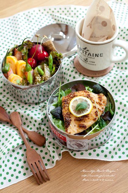 めかじきのステーキ丼弁当! |あ~るママオフィシャルブログ「毎日がお弁当日和♪」Powered by Ameba
