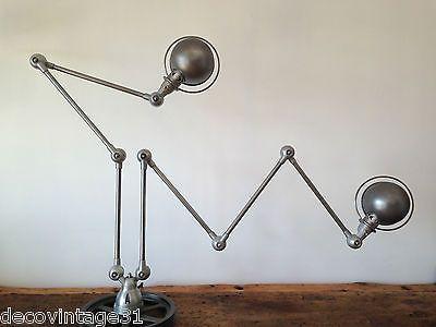 double lampe jielde 7 bras loft light lamp arms vintage industrial french jld lampe jielde. Black Bedroom Furniture Sets. Home Design Ideas