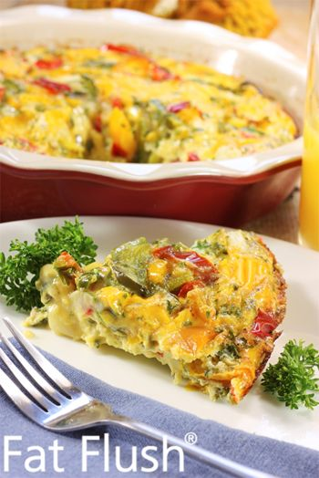 Weekend Turkey-and-Egg Bake: Official Fat Flush Recipe