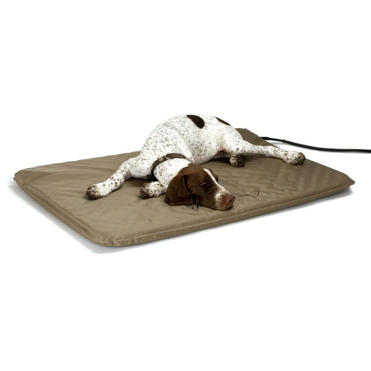 The first soft, outdoor heated bed on the market! Our Heated Outdoor Pet Bed Perfect for doghouses, basements, garages, barns, sheds, porches or any other outdoor shelter. This soft, orthopedic bed is