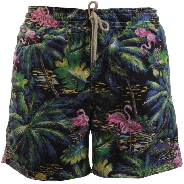 Ralph Lauren Traveller Swimming Shorts Blue ❤ liked on Polyvore featuring swimwear, polo swim trunks, ralph lauren, ralph lauren swimwear, blue swimwear and polo swimwear