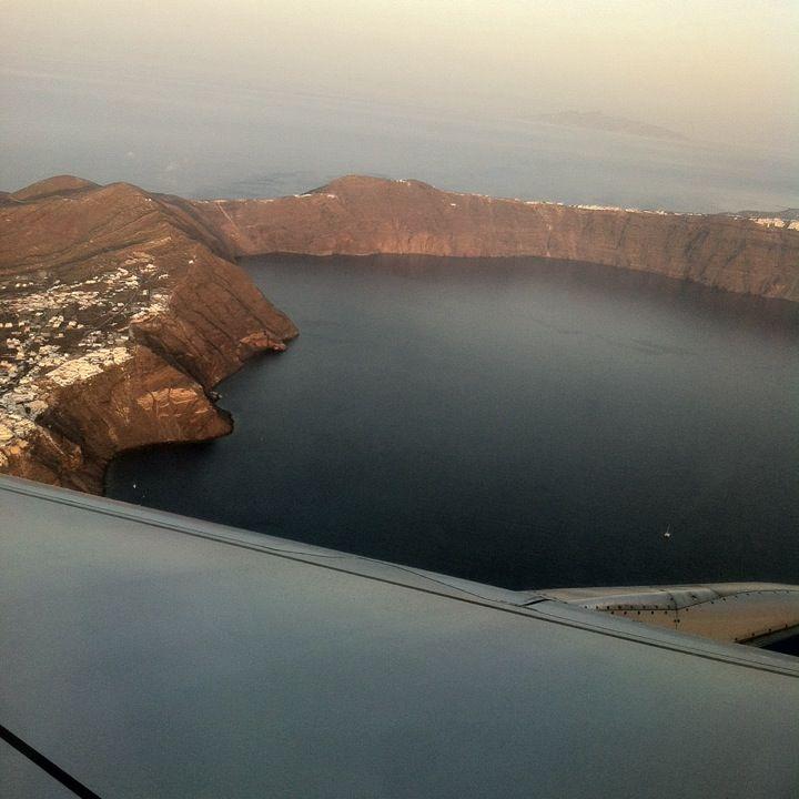 Santorini (Thira) National Airport (JTR) Κρατικός Αερολιμένας Σαντορίνης