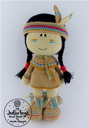 #crochetdoll #indian #crochet doll #doll #amigurumidoll #amigurumipattern #crochetpattern #juliotoys