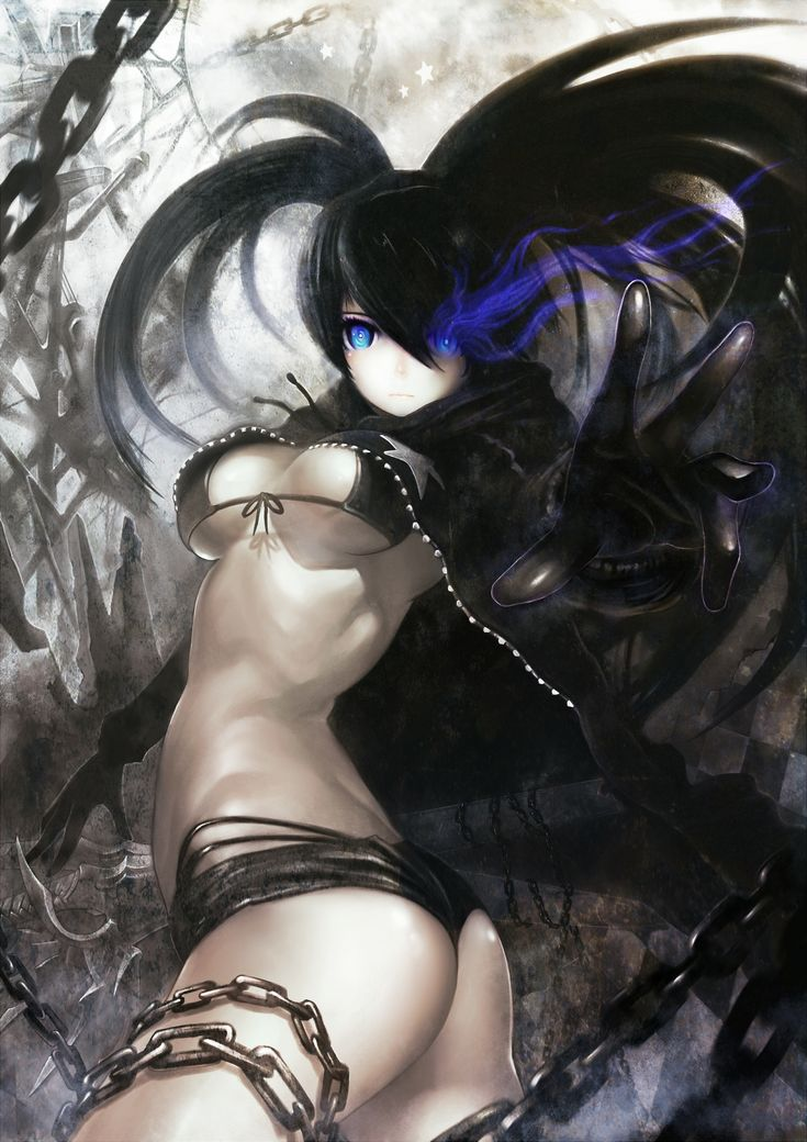 rock anime Black shooter