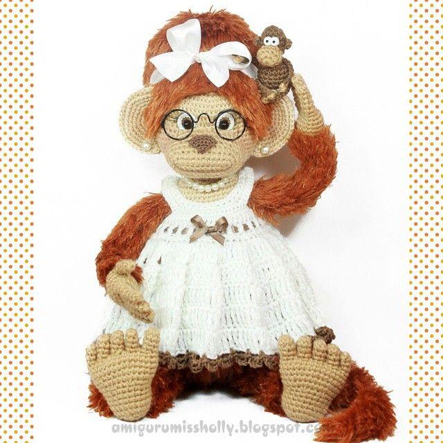 Mejores 120 imágenes de Amigurumi - monkeys en Pinterest | Monos ...