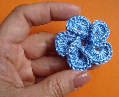 Vanecroche e patch: Florzinha de croche com passo a passo