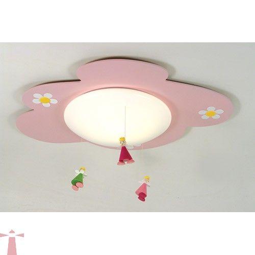 Niermann Prinsessen plafondlamp 694 roze 53cm