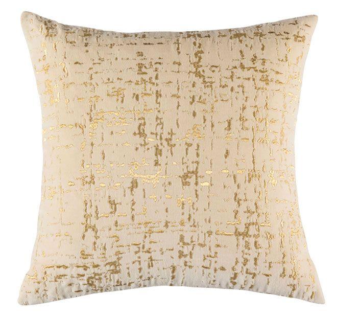 Kas Tweed 45x45cm Filled Cushion Gold